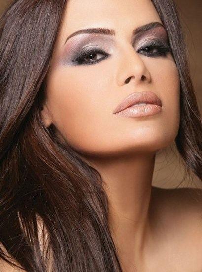 Maquillage brune - http://lookvisage.ru/maquillage-brune/ #Cheveux #Beauté #tendances #conseils