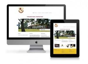 Website: St Benedict School, KwaZulu Natal Designed by: Sheree Conway