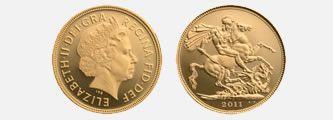 2011 Gold Sovereign