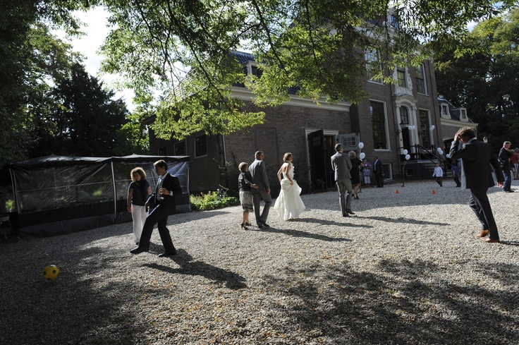 // Wedding at Frankendael, Amsterdam