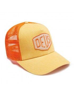 DEUS Trucker pet Foxtrot Shield - orange