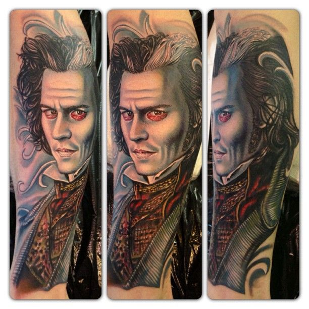22 best heart tattoo design images on pinterest heart for Sweeney todd tattoo