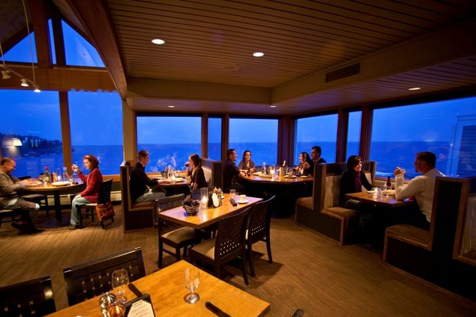 Check out the views from Bluefin Grille at Bay on Lake Superior #MSPDestination