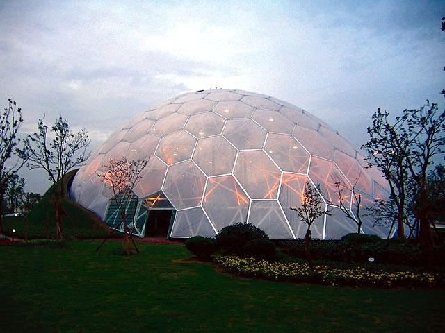 Nantong Park Bon-Garden Greenhouse - Jiangsu, Nantong, China