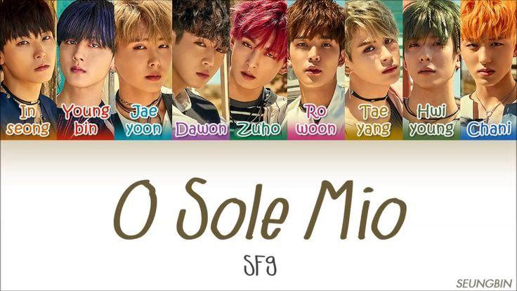 SF9 (에스에프나인) - 'O Sole Mio(오솔레미오)' [Color Coded Han|Rom|Eng lyrics]