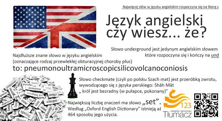 Ciekawostki języka angielskiego