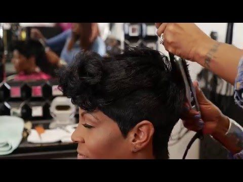 HOW TO CUT A FUNKY PIXIE (using clippers&shears) – YouTube