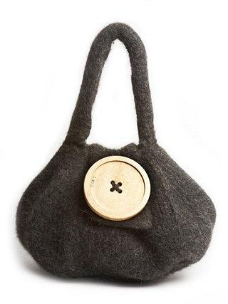 Toft Alpaca Giant Bulb Felt Bag