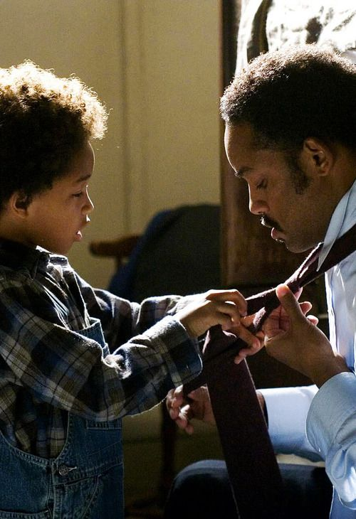 Jaden Smith & Will Smith in Pursuit of Happyness
