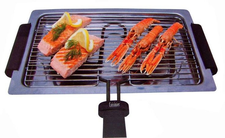 Elektrische barbecue (1600W)