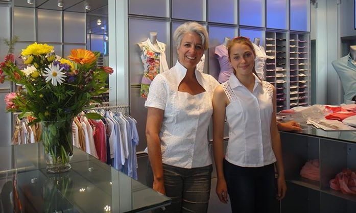 Customers matching white in Store at NaraCamicie - Oxford St, Paddington, Sydney #Summer #Spring #Hot #Fashion #Clothes #Shirt #Shop #Store #Fashionable #Stylish #Naracamie