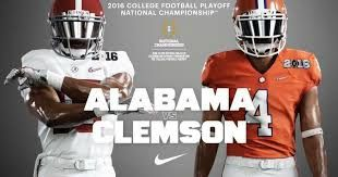 NFL round up news: 2017 College Football Playoff: Alabama vs. Clemson...