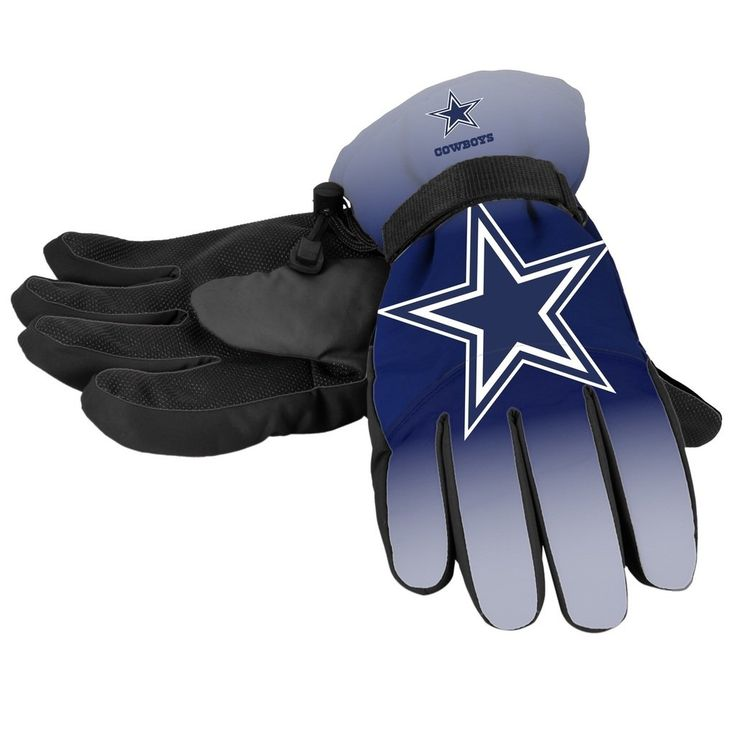 Dallas Cowboys Gloves Insulated Gradient Big Logo