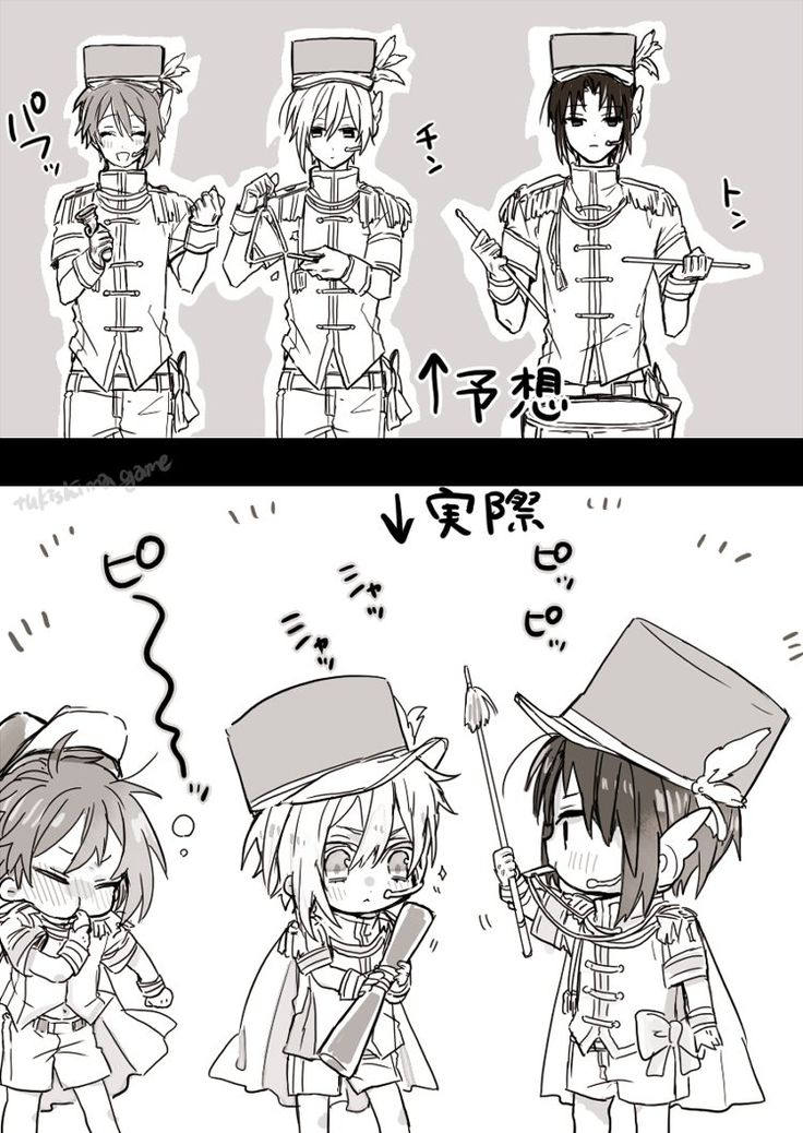 Idolish7 Lori and Riku and Tenn