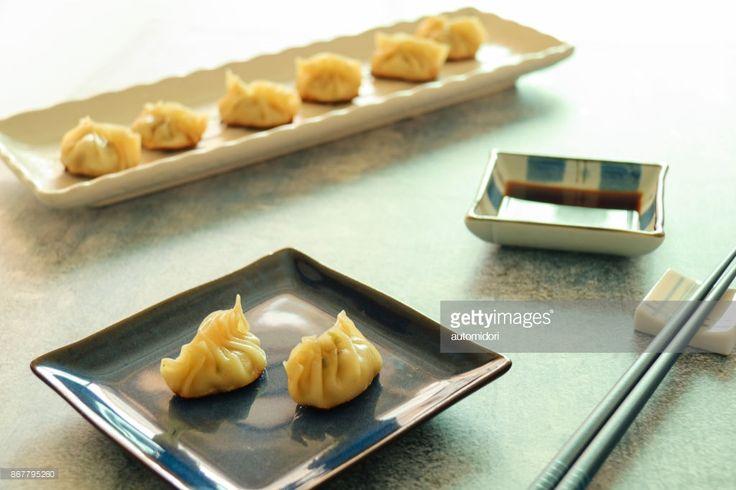 ストックフォト : Gyoza, Japanese Dumplings