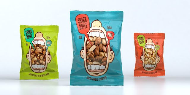 Snack Drive on Packaging of the World - Creative Package Design Gallery