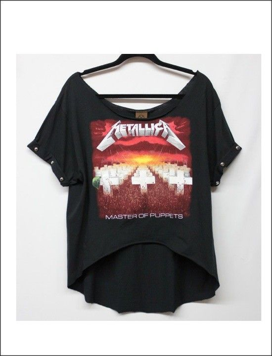 メタリカ(Metallica) ハイローカットTシャツ