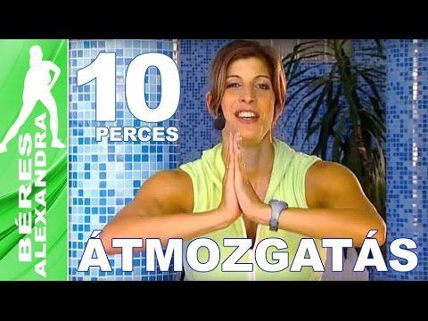Béres Alexandra torna || Átmozgató gyakorlat 4. || 10 perc Átmozgató gyakorlat Mielőtt elkezdenéd a célzott izomcsoportok edzését, fontos, hogy mozgasd át a ...