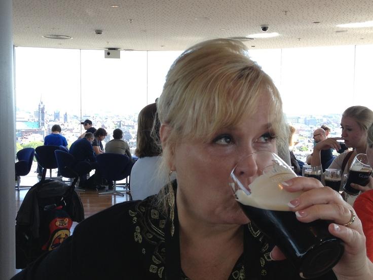 Mama likey her Guinness...