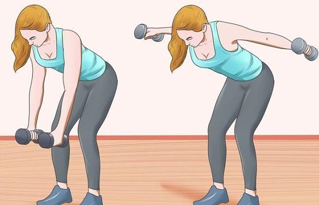 Adelgazar brazos con mancuernas ejercicios