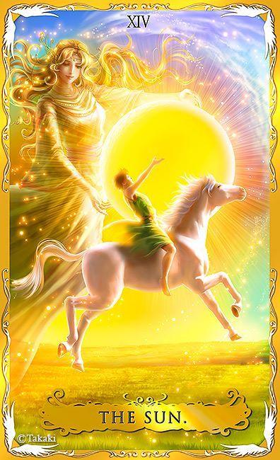 The Sun by Takaki (Alchemia Tarot)