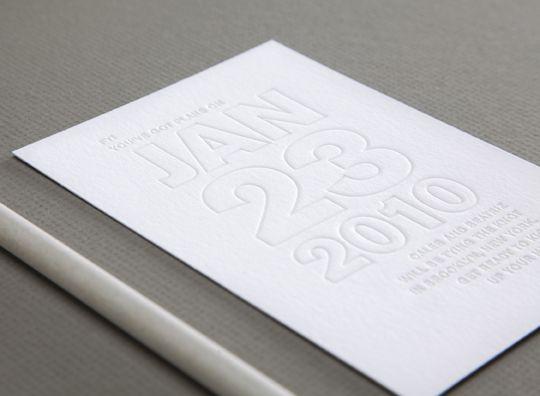 invitación boda evento save the date invitation wedding event letterpress white blanco miraquechulo