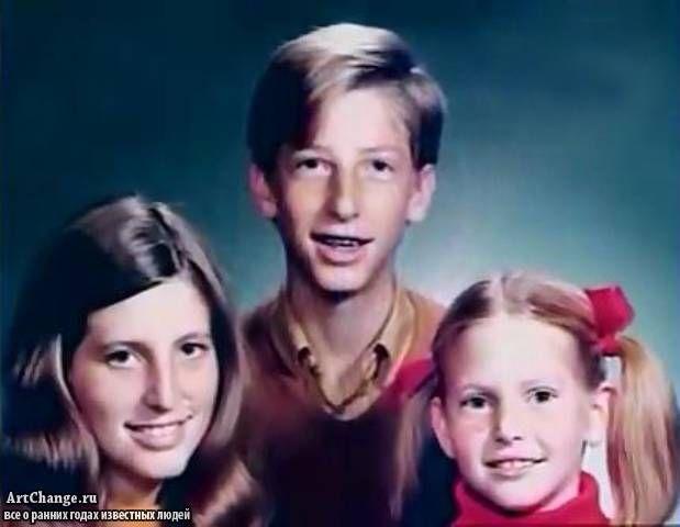 Билл Гейтс - биография ранних лет, детские фото (Bill Gates)   Вспомним былое