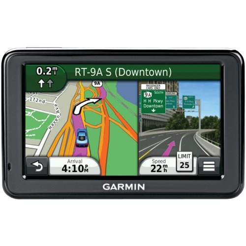 Garmin Nuvi 2455LMT    Features:        Lifetime map updates;4.3 inch LCD display      Speed limit indicator - unit displays speed limits for most major roads.      Lane assist with photoReal junction views.      Over 8 million points of interest and see branded icons on the map as you navigate.      Park position recall - find your car where you left it.    Visit : http://www.mappdash.com