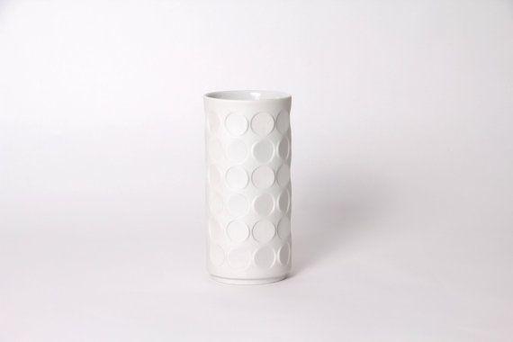 Winterling Vase Biskuitporzellan vintage 60er von laovejitanegrita