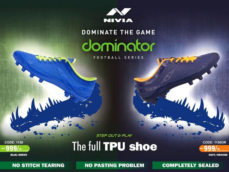 NIVIA DOMINATOR SHOE- Dominate The Game | FOOTBALL | Pinterest | Football  shoes