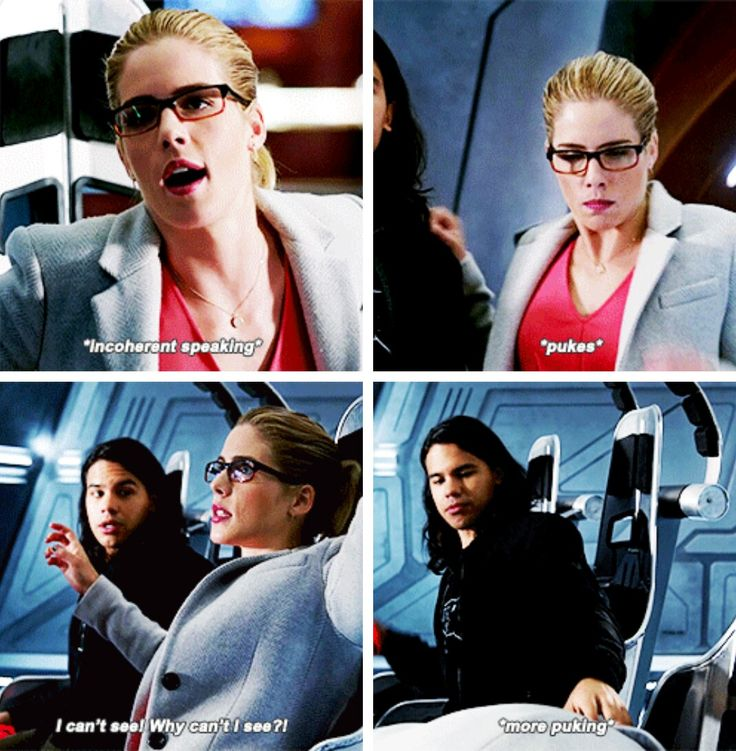 """""""Severe-time jumps can cause nausea, temporary deafness... linguistic disorientation."""" #LegendsofTomorrow #Season2 #2x07 - Crossover Part 3!"""