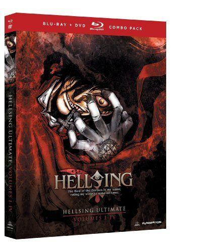 Hellsing Ultimate: Volumes 1-4 Collection [Blu-ray/DVD Combo] Blu-ray ~ Crispin Freeman, http://www.amazon.com/dp/B008NNY9YE/ref=cm_sw_r_pi_dp_-FBOtb1K8VXV0