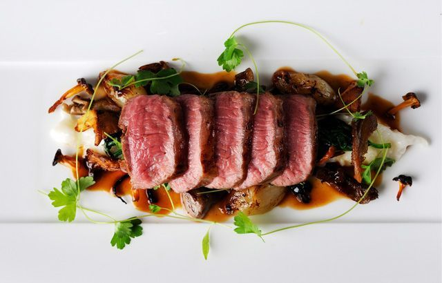 awesome Lamb Loin Recipe With Parmesan Risotto - Great British Chefs