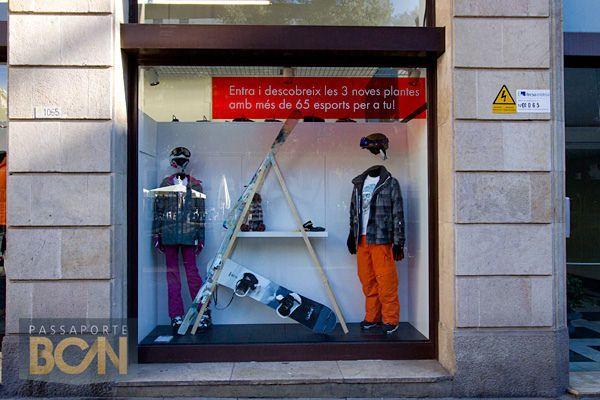 onde comprar roupa esportiva e de esqui em Barcelona