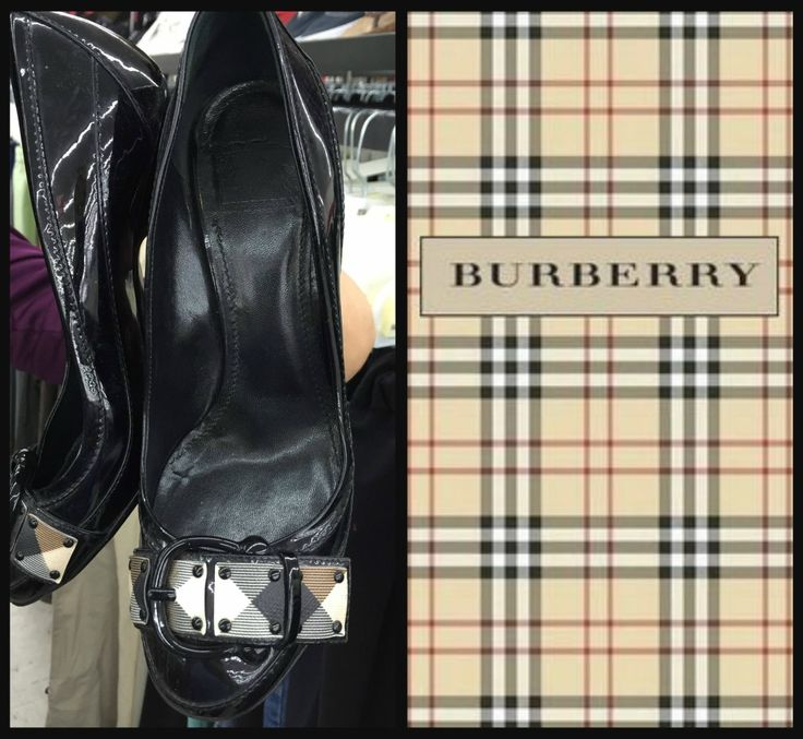 Burberry Heels for $2 at Houston Thrift OUTLET Store!