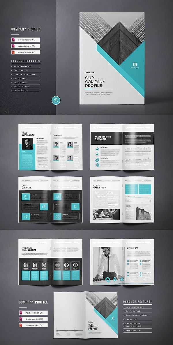 Company Profile Template Brochure Template Indesign Templates Business Corporate Company Profile Design Company Profile Template Brochure Design Template