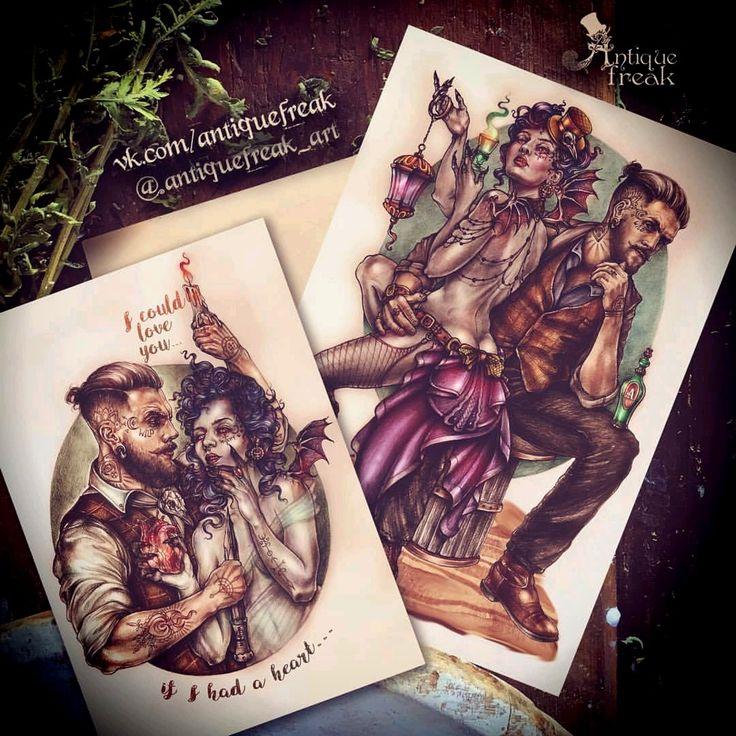 #mylovelyevil 👿🖤👿 #antiquefreak #art #brutal #bearded #beard #portrait #vampire #illustration #witch #spb #victorian #sketchbook #sketching #spbart #tattoo #sketch #artwork #steampunk #artoftheday #бородач #арт #портрет #artforsale #татуировки #брутал #спб #иллюстрация #рисую #художникспб