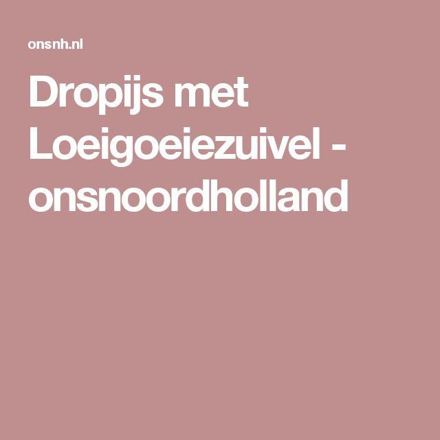Dropijs met Loeigoeiezuivel - onsnoordholland