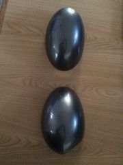 Mini Cooper Wing Mirror covers Dark Silver Excellent Condition 2008 onwards
