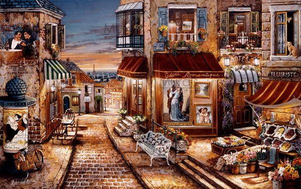 Street. Artistas John Patrick O'Brien y Liudmila Kondakova - Muz4in.Net