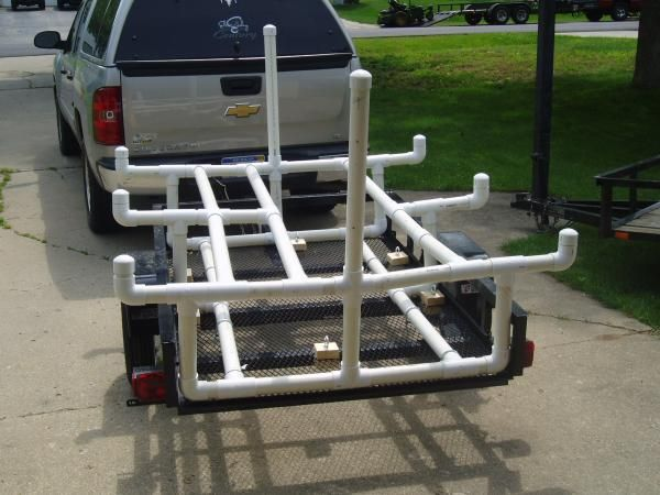 kayak trailer | have another 4x6 trailer laying around out back that never gets used ...