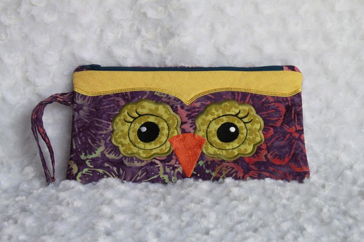 A personal favorite from my Etsy shop https://www.etsy.com/ca/listing/539956793/owl-clutch