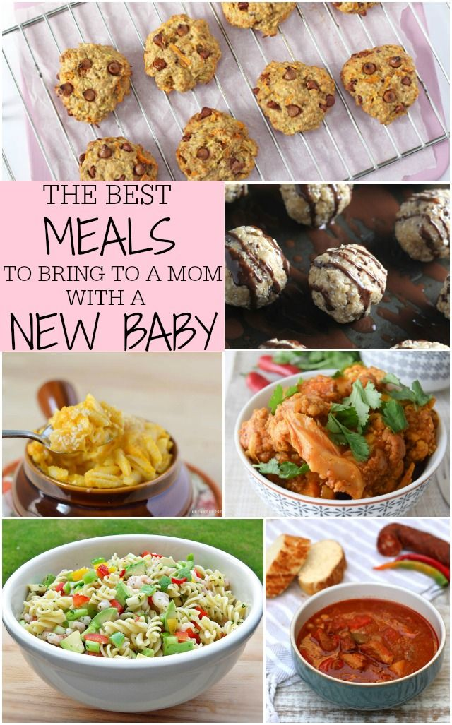 The Best Meals To Bring To A Mom With A New Baby. www.superhealthykids.com