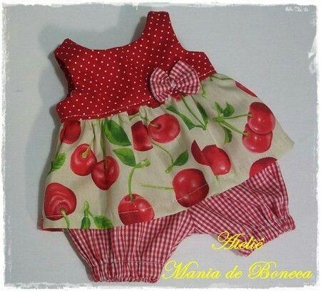 Conjuntos para bonecas Baby Alive! Conheça essa e outras opções de peças únicas e exclusivas para mimar suas bonecas em nosso site: www.maniadeboneca.com.br