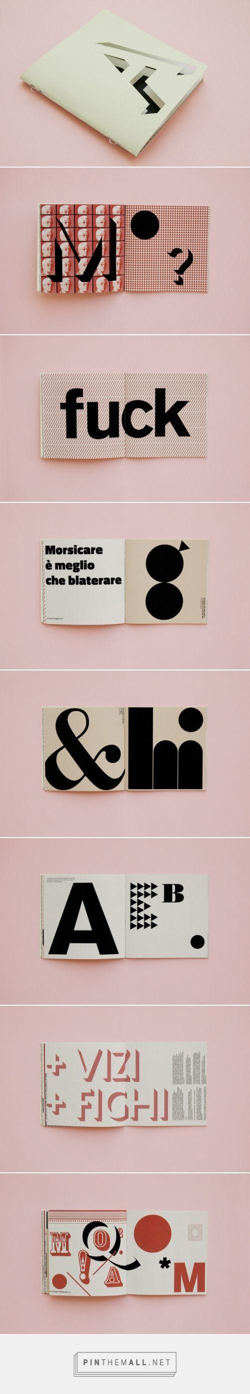Vizi Figate by Francesco DelRosso - tipografia e design