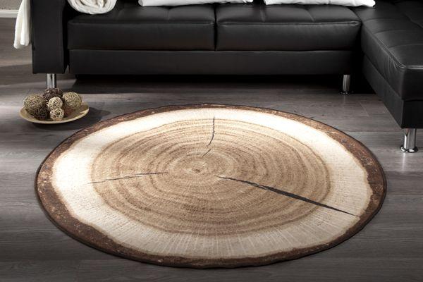 Wat ziet dit er toch leuk uit, een tapijt van een boomstam. Hier breng je pas echt sfeer mee in huis. Hij is ook nog eens met 60% afgeprijsd #huis #woondecoratie #vloerbedekking #tapijt #vloerkleed #hout #boom #uitverkoop #sale #Home #carpet #tree #branch
