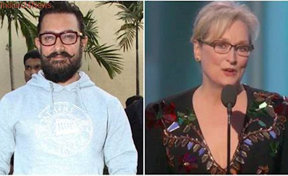 Everyone has a right to say things in a democratic country: Aamir Khan on Meryl Streep's comments