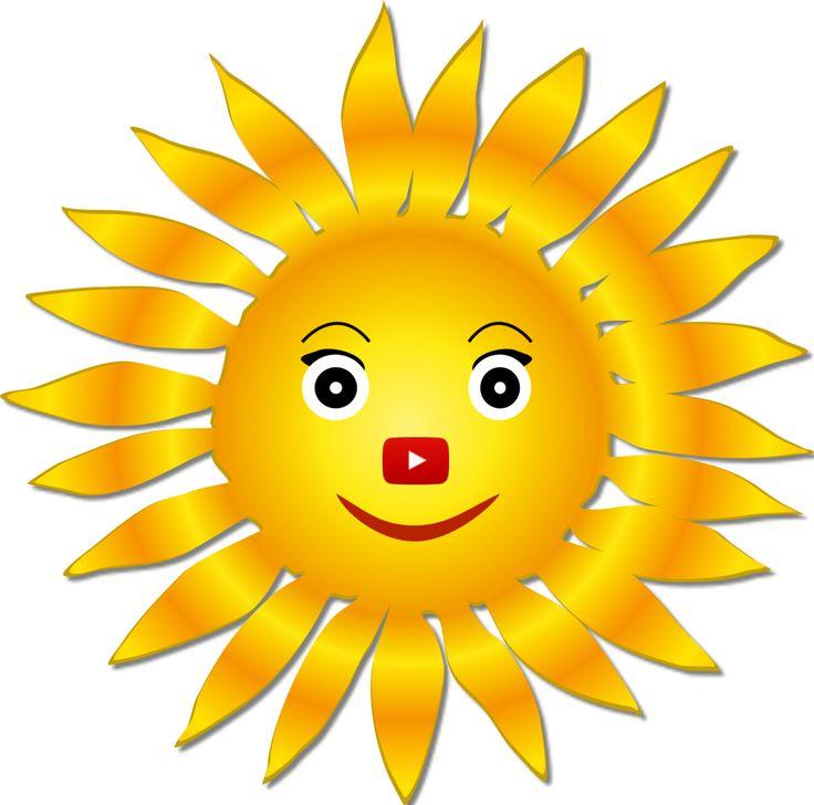 Холодильник, картинки веселого солнышка из мультфильмов