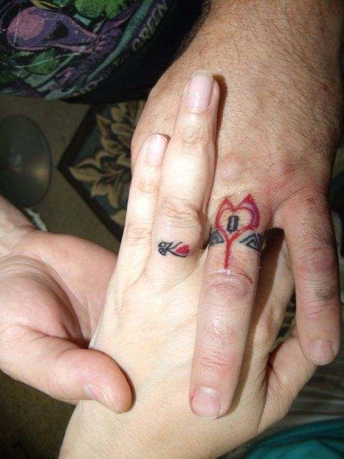 The King and Queen of Hearts. Matching tattoos #tattoo # ...