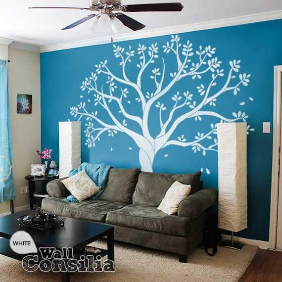 25+ Best Ideas About Tree Stencil For Wall On Pinterest